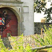 Wappen an der Schlosstür