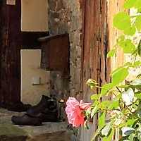 Bauernhauseingang